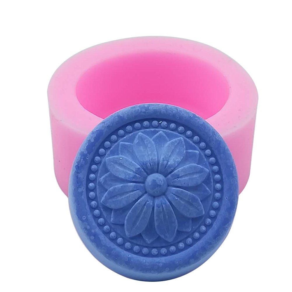 Myfashionhair Stampo in silicone per candela, sapone fatto a mano, artigianato, cioccolato, muffin, ghiaccio (Babyfoot)