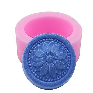 Molde de silicona para velas, jabón hecho a mano, manualidades, chocolate, magdalenas