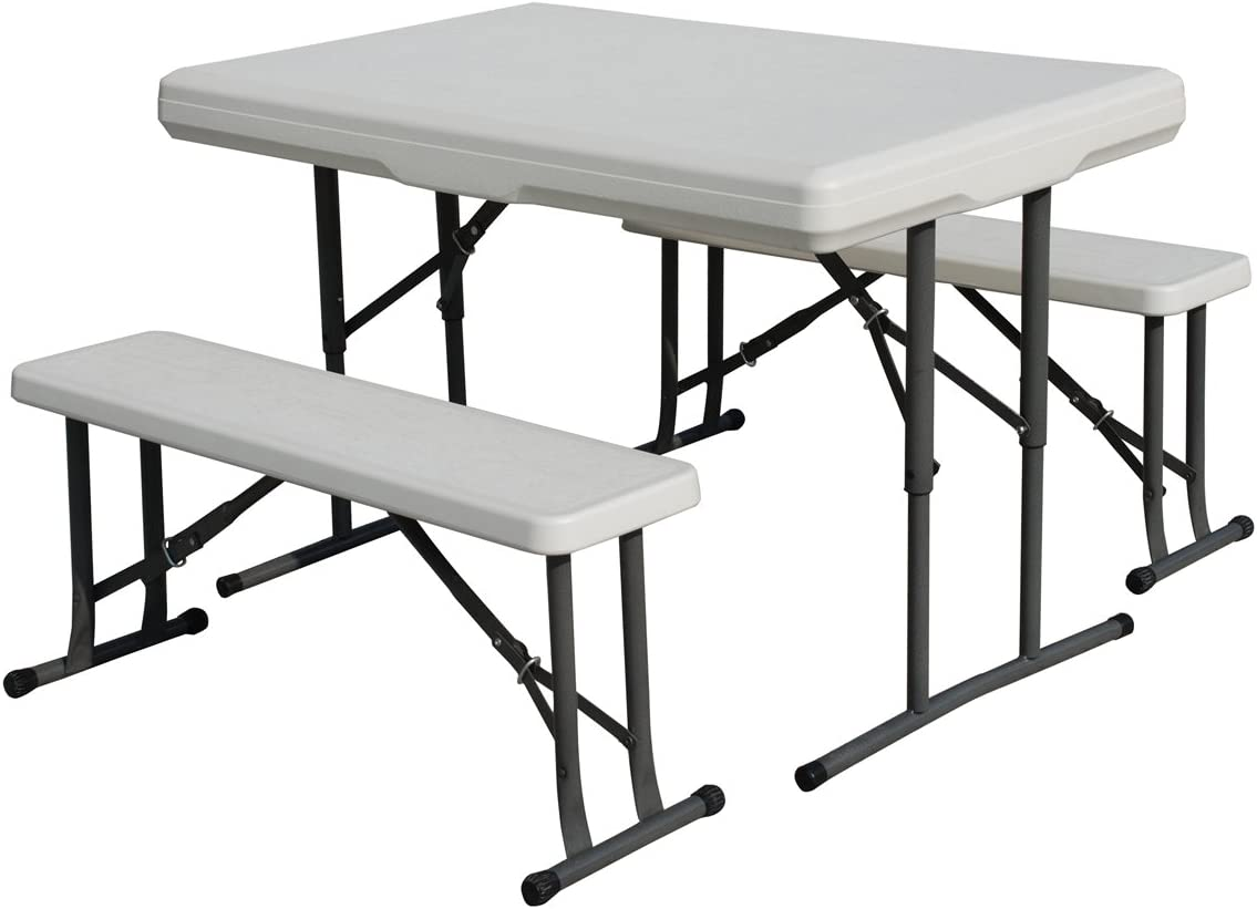 Stansport Heavy Duty Picnic Table and Bench Set : Camping Tables : Sports & Outdoors