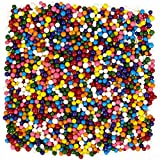 Wilton 710-4065 Rainbow Nonpareils Food Decorative, 7.5-Ounce