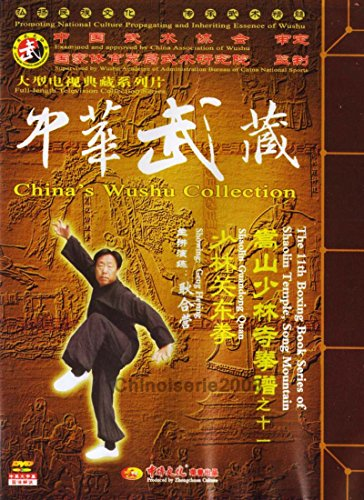(Out of print) Boxing Skill Book Series of Songshan Shaolin Guandong Boxing by Geng Heying DVD - No.011