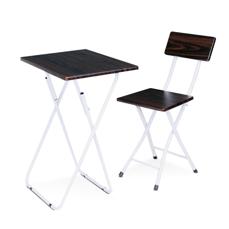 Furinno FNBM-22110EX Space Saving Study Desk and Chair Set