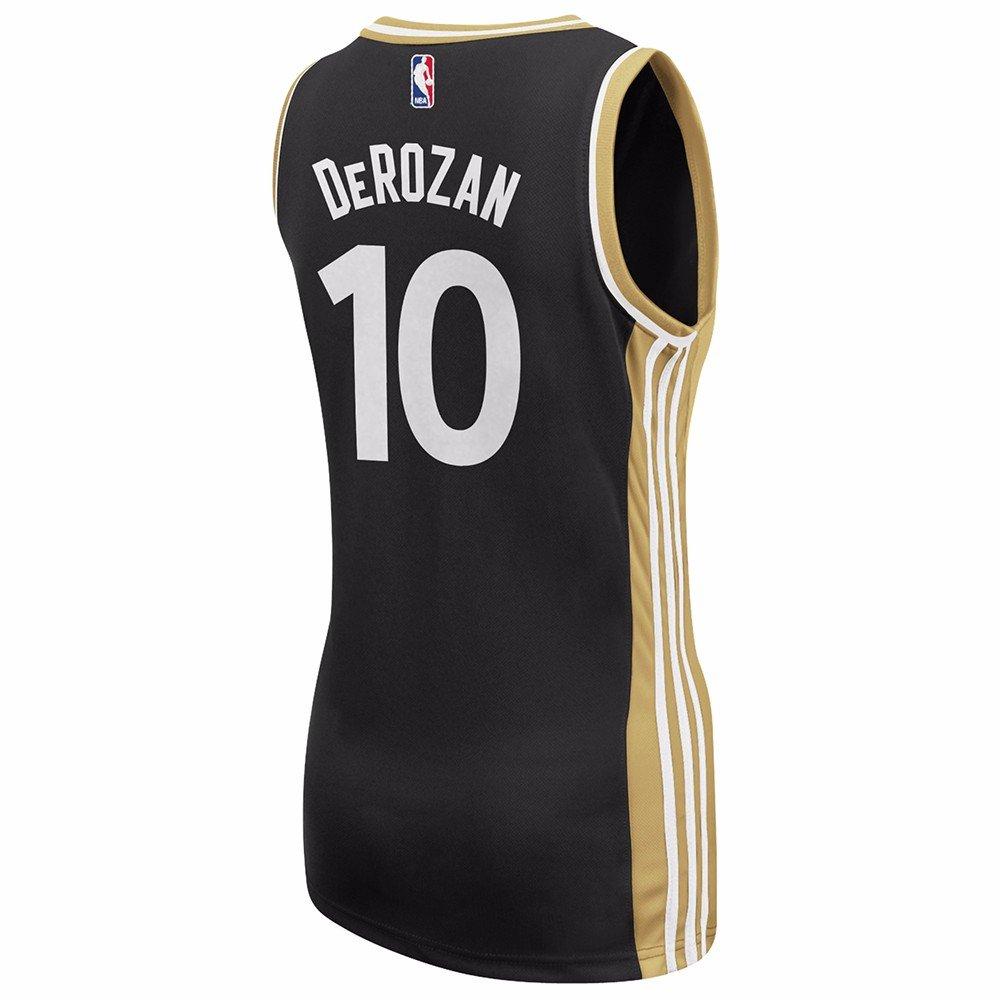 b9b02429 Demar Derozan Toronto Raptors NBA Adidas Black Official Alternate OVO  Replica Jersey For Women (M): Amazon.co.uk: Sports & Outdoors
