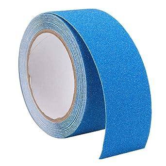Liukouu cuarzo antideslizante piso de la escalera escalera antideslizante cinta adhesiva de PVC 5m(Blue): Amazon.es: Industria, empresas y ciencia
