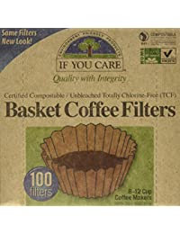 CheckOut If You Care Coffee Filter Baskets ( 1x100 CT ), Fits 8-12 Cup Drip Coffee Makers offer