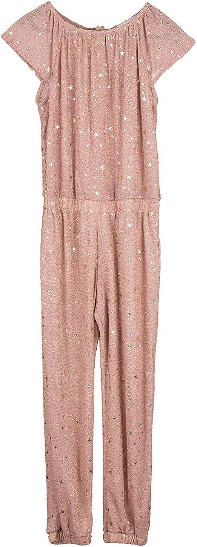 ZARA - Pijama de una pieza - para niña Pink/Gold 8 años ...