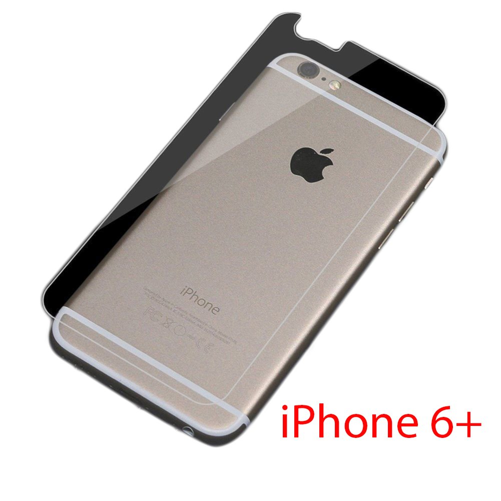Pack de 10 x iPhone 6 Plus/6S Plus Trasera Rígida plástico película protectores: Amazon.es: Electrónica