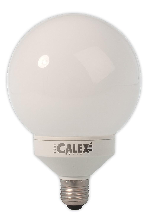 Ahorro de energía globo G120 30 W E27 blanco frío: Amazon.es ...