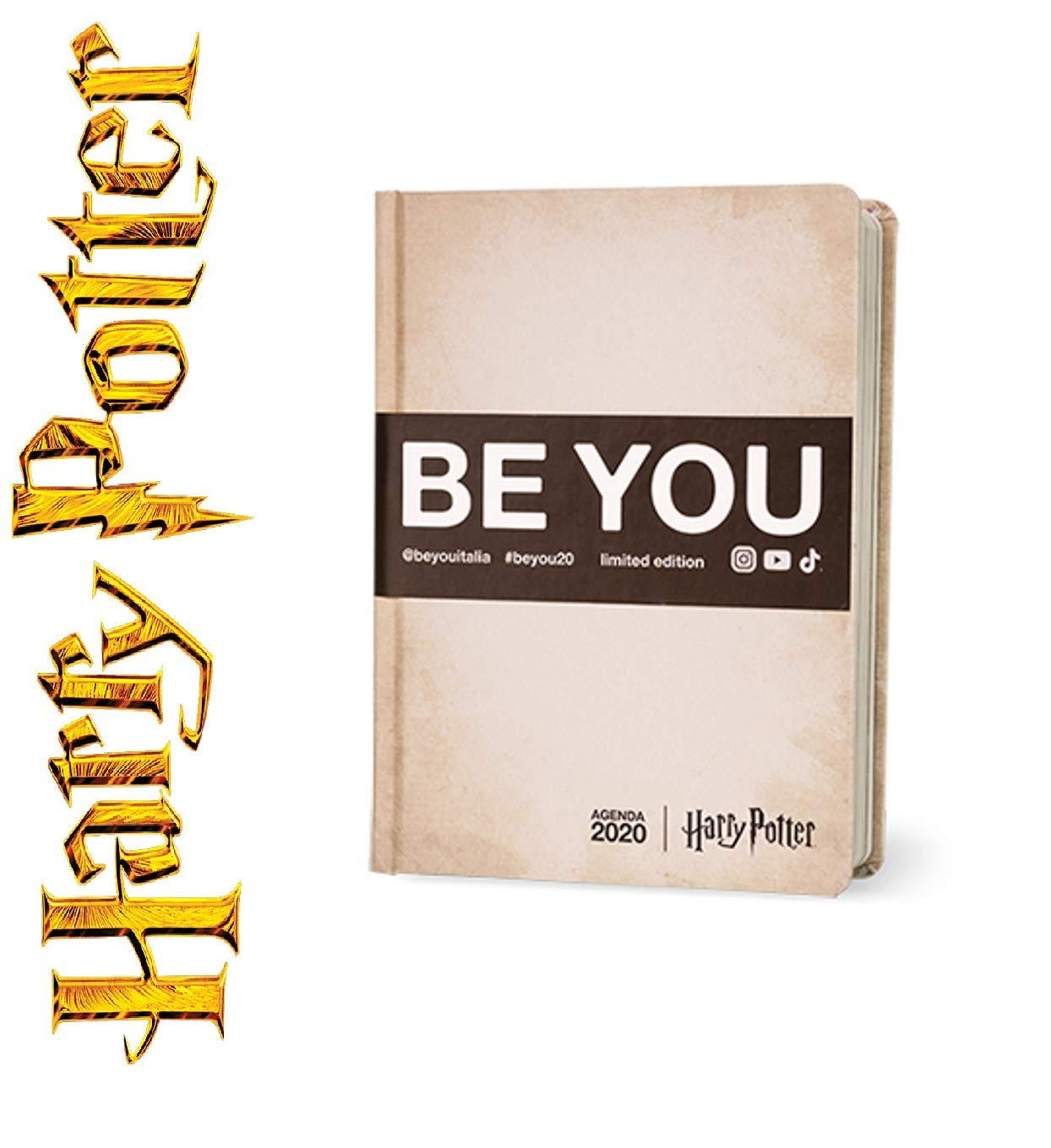 Diario escolar Be You Harry Potter estándar 2019-2020 + ...