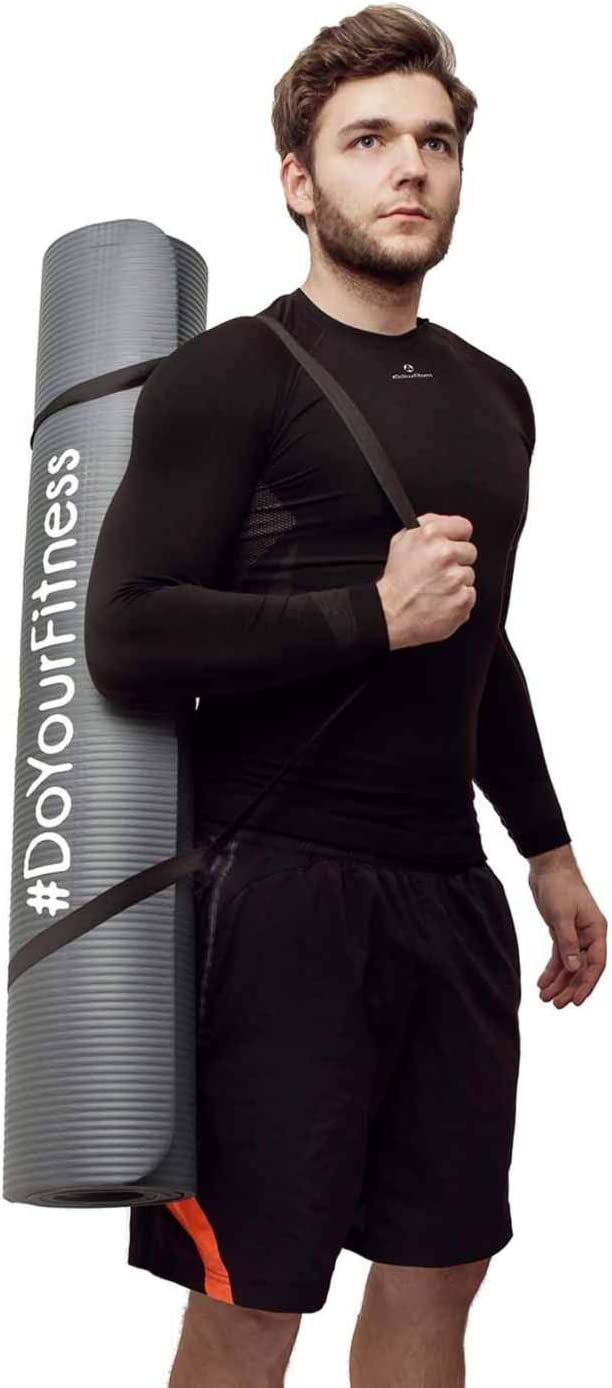 Gimnasia y Yoga//Medidas Pilates 190 x 100 x 1,0cm Disponible en Diversos Colores. #DoYourFitness XXL Esterilla para Fitness /»Ashanti/« Extra Gruesa y Suave