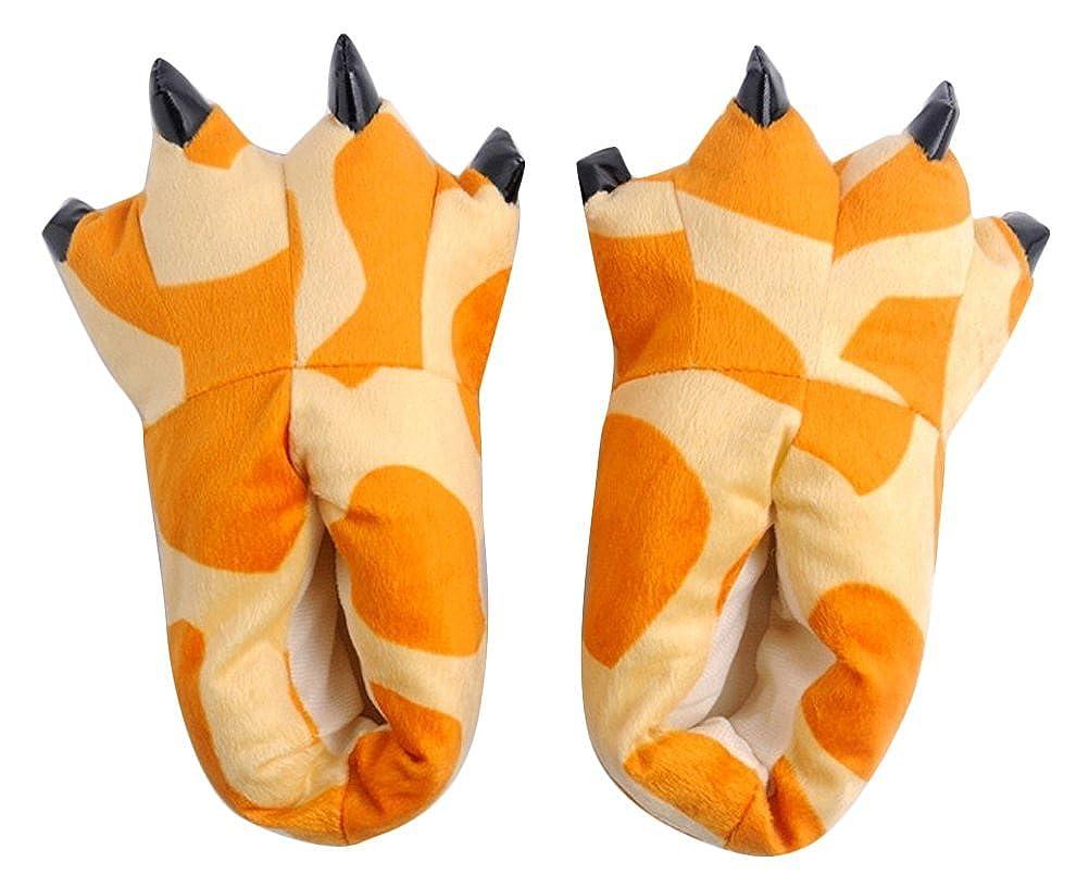 Brinny Adulte Enfants Unisex Slipper D/éguisement Pantoufle Animal Figure Chaussons Multicouleur S//M//L