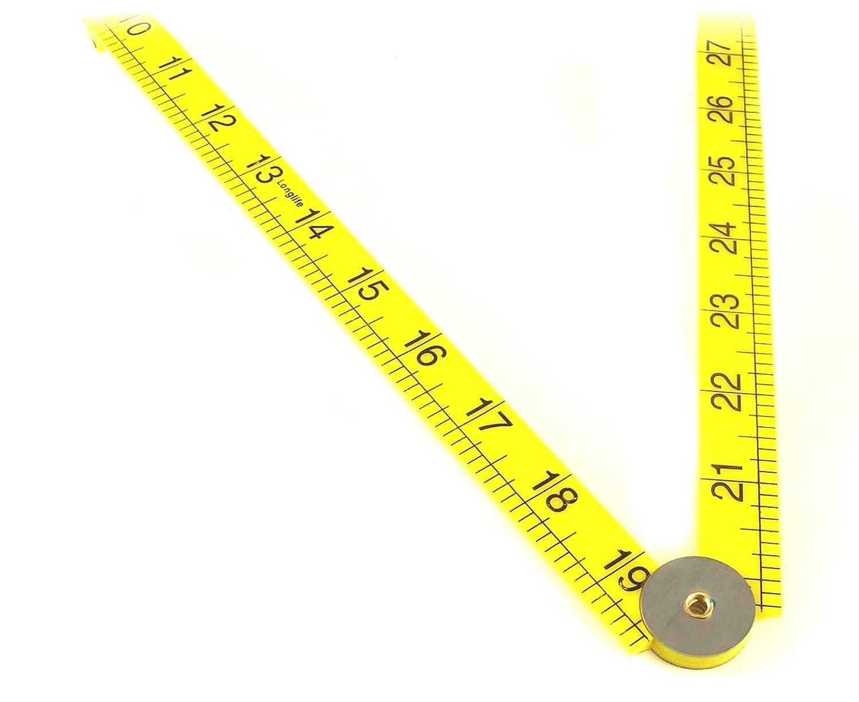 Toolzone 1m Folding Plastic Ruler