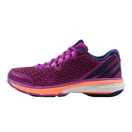 fb67e9745 Amazon.com  Adidas Energy Boost Volley Women s Shoes Purple orange (8)   Sports   Outdoors