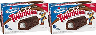 product image for Hostess Chocolate Cake Twinkies, 10 Count, 13.58 Ounce (Pack of 1)-SET OF 3 Pack of 2