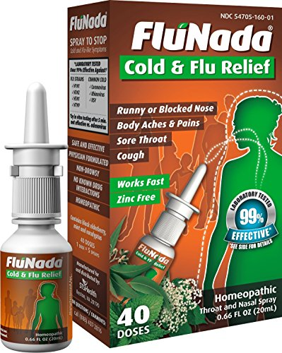FluNada Cold & Flu Relief  ( 40 Doses)