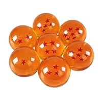 Katara 1737 Set 7 Dragon Ball Z Confezione Regalo Le Sette Sfere del Drago Sfere Cristallo Arancione Serie Goku Manga Anime