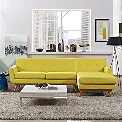 LexMod Engage Right-Facing Sectional Sofa