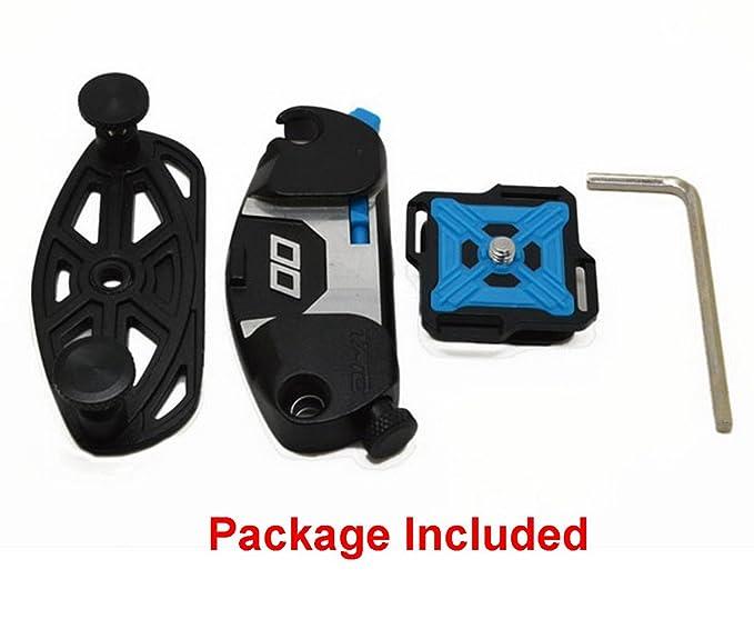 Amazon.com : Deekec Camera Clip, Universal Waist Belt Tripod Mount Clip Adapter For SLR DSLR Camera & GoPro : Camera & Photo