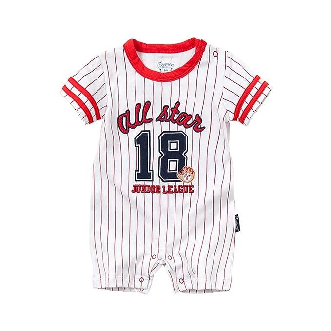 Amazon.com: DOESLOOK Mono de béisbol para recién nacido ...