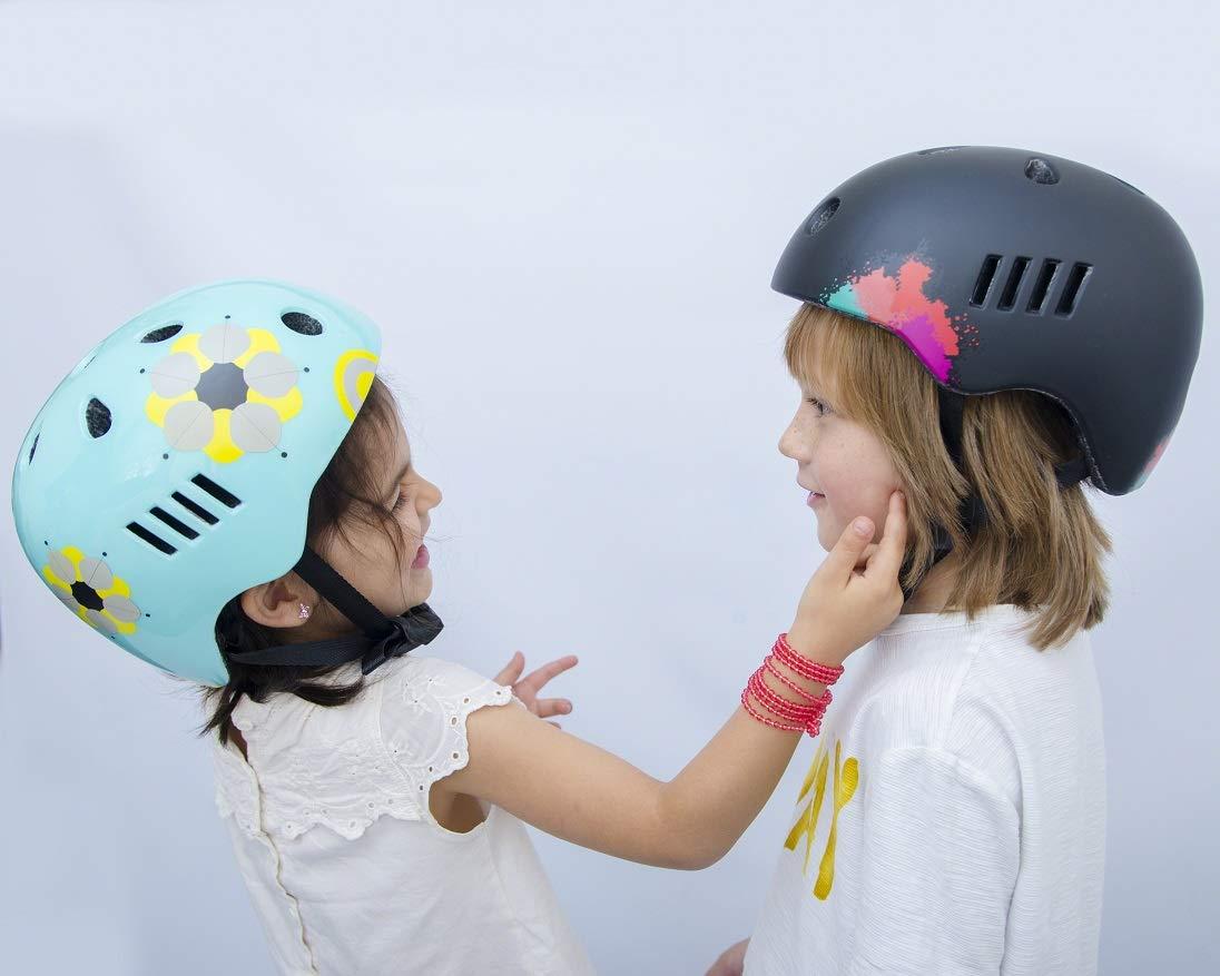 scooting Radfahren Skating kleiner und mittlerer Gr/ö/ße f/ür Jungen und M/ädchen Extra Light Naranja minimalista Helme/® Kinder-Sport und Reisen mit Sicherheit zertifiziert /& Gr/ö/ße verstellbar Kinder-/& angenehm