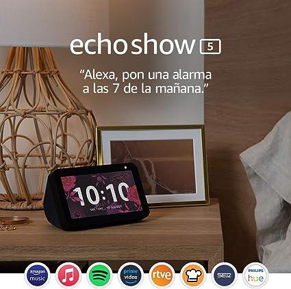 Comprar Echo Show 5: mantén el contacto con la ayuda de Alexa, negro