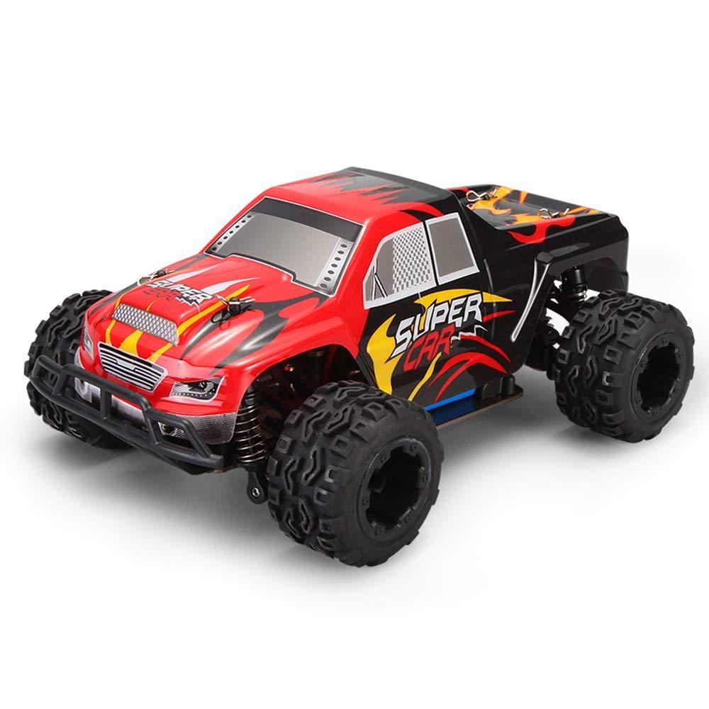 Pinjeer 40キロメートル/ hミニ1:24充電玩具ミニ高速ピックアップレーシングカーリモートコントロールカー四輪駆動クロスカントリー蚊車大人のおもちゃ子供のためのギフト12+ (サイズ : 3-Battery) B07R6DQM95  3-Battery