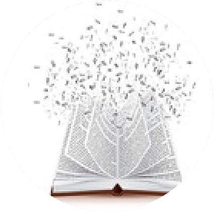 tapis de souris livre avec lettres qui s'envolent: Amazon.fr: High ...