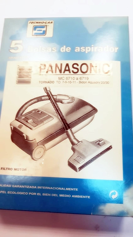 Taurus Bolsas Aspirador COMPATIBLES PANASONIC: Amazon.es: Hogar
