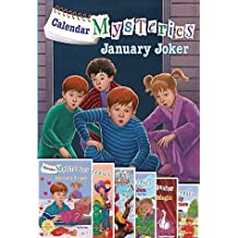 Calendar Mysteries Set of 12: January Joker, February Friend, March Mischief, April Adventure, May Magic, June Jam, July Jitters, August Acrobat, September Sneakers, October Ogre, November Night, December Dog