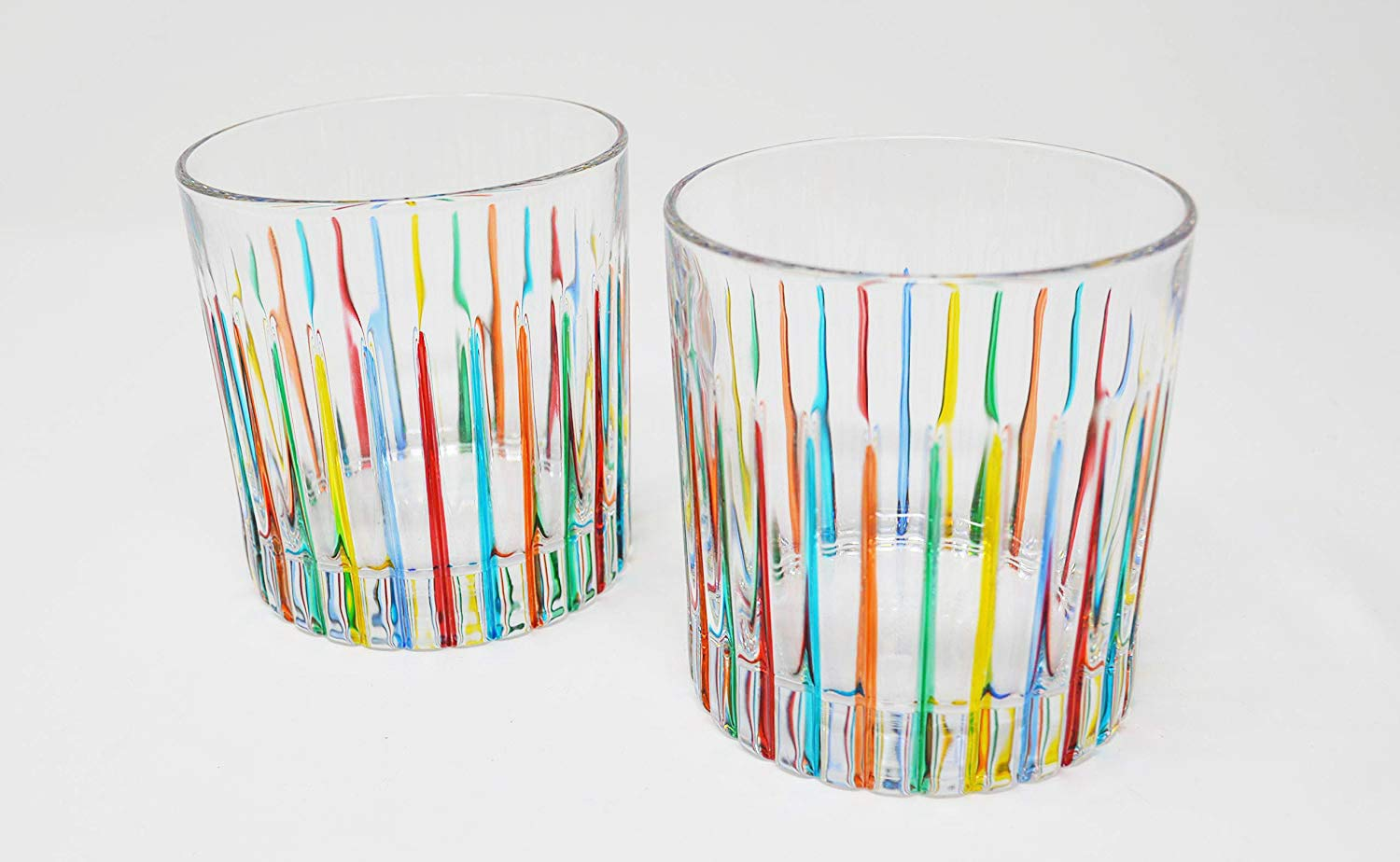 Authentic Italian Highball Glasses, Timeless, Set of 2 by My Italian Decor (Image #1)