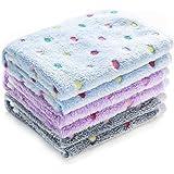 luciphia 1 Pack 3 Blankets Super Soft Fluffy Premium Fleece Pet Blanket Flannel Throw for Dog Puppy Cat