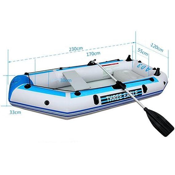 V-BLUE Yate de lujo extremo cilíndrico pinza neta Inflatable Boat ...