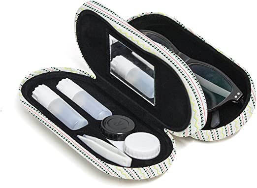 Balvi Estuche para Gafas y lentillas Metal: Amazon.es: Hogar