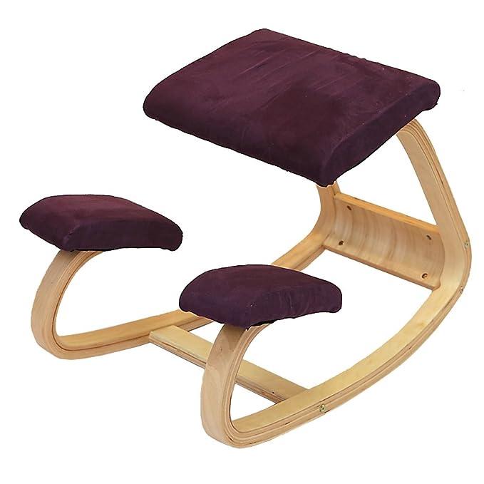 11 opinioni per Legno solido corretta La postura seduta Sedia ergonomica di guida Una Sedia