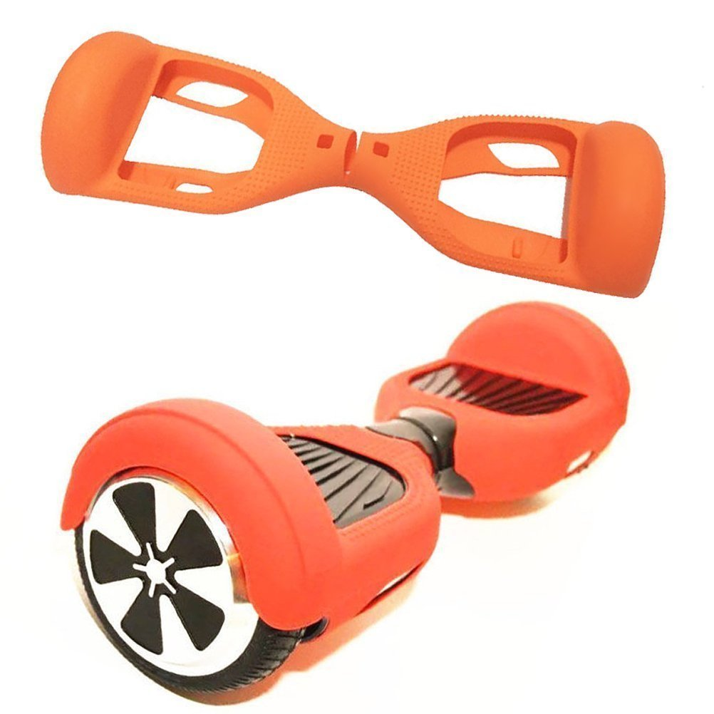 Scooter Hülle Hoverboard Silikon Schutzhülle JUYUAN-EU für 6, 5 Zoll Smart Self Balancing Elektro Skateboards