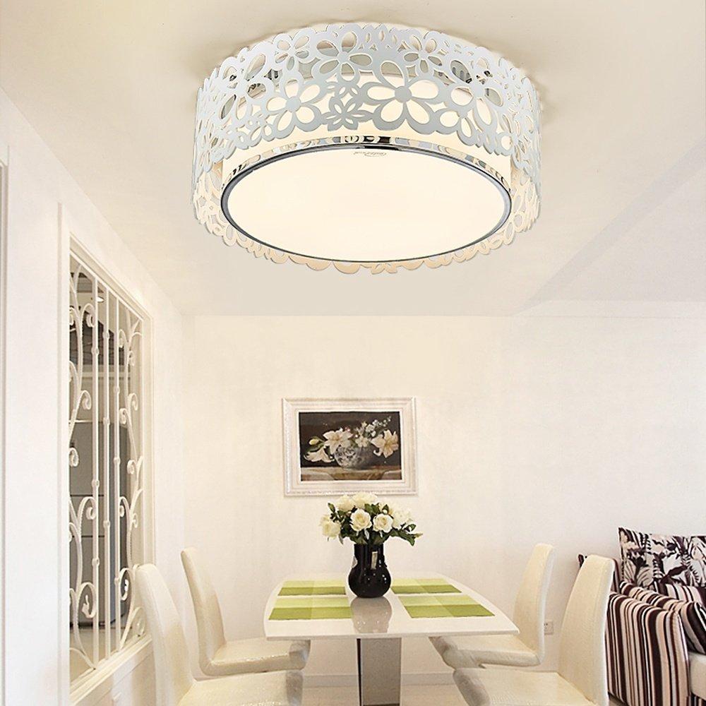 Modern Art Continental LED Deckenleuchte für für für Wohnzimmer Schlafzimmer Deckenlampe Küche Hotel Kinderzimmer kreativ Design Büro Deckenleuchten Beleuchtung L37cm H11cm 18W Dimmbar de32f9