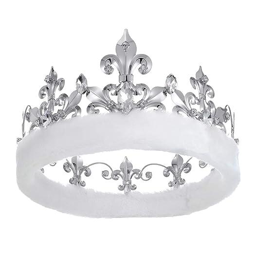 Amazon.com: YZHSTONE coronas para hombre King Crowns ...