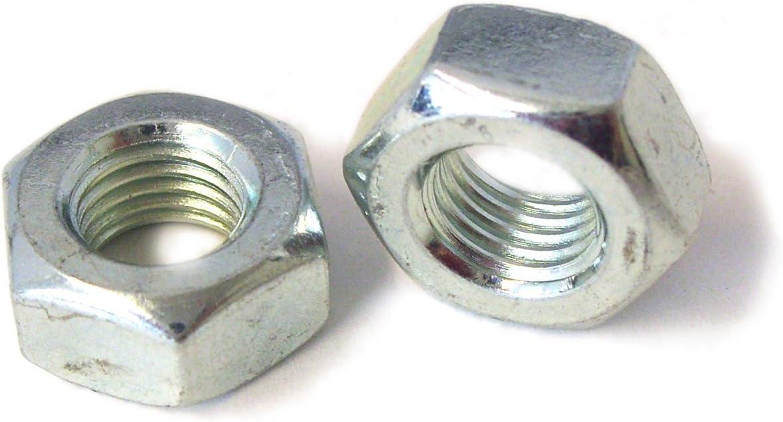 UNF Zinc Plated Steel Full Nuts