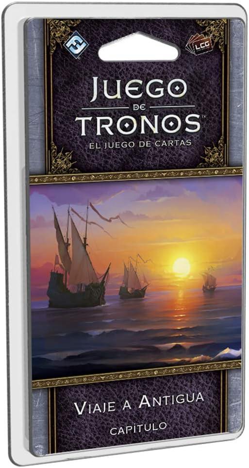 Fantasy Flight Games- Juego de tronos lcg: viaje a antigua - español, Color (FFGT24) , color/modelo surtido: Amazon.es: Juguetes y juegos