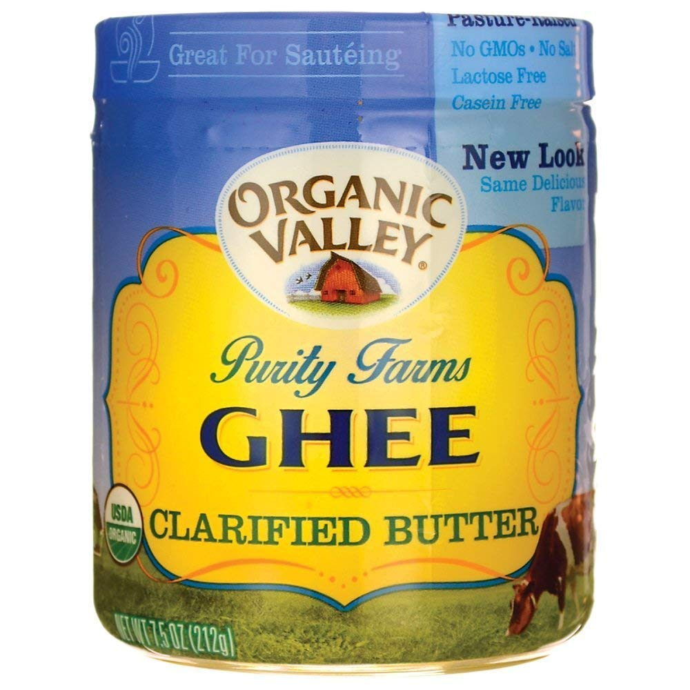 Purity Farm Ghee (Clarified Butter), 7.5-Ounce (2 Pack)