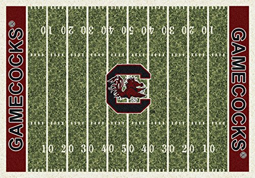 NCAA Home Field Rug - South Carolina Gamecocks, 3'10'' x 5'4'' by Millilken