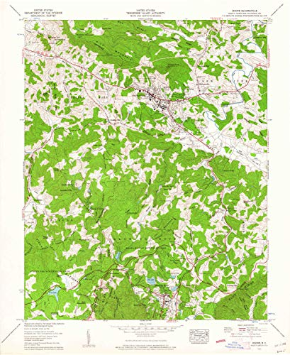 YellowMaps Boone NC topo map, 1:24000 Scale, 7.5 X 7.5 Minute, Historical, 1959, Updated 1962, 27 x 22 in - Paper (Map Of Boone And Blowing Rock Nc)