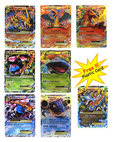 EX Mega Pack - Set of 7 Cards - Charizard Blastoise for sale  Delivered anywhere in USA