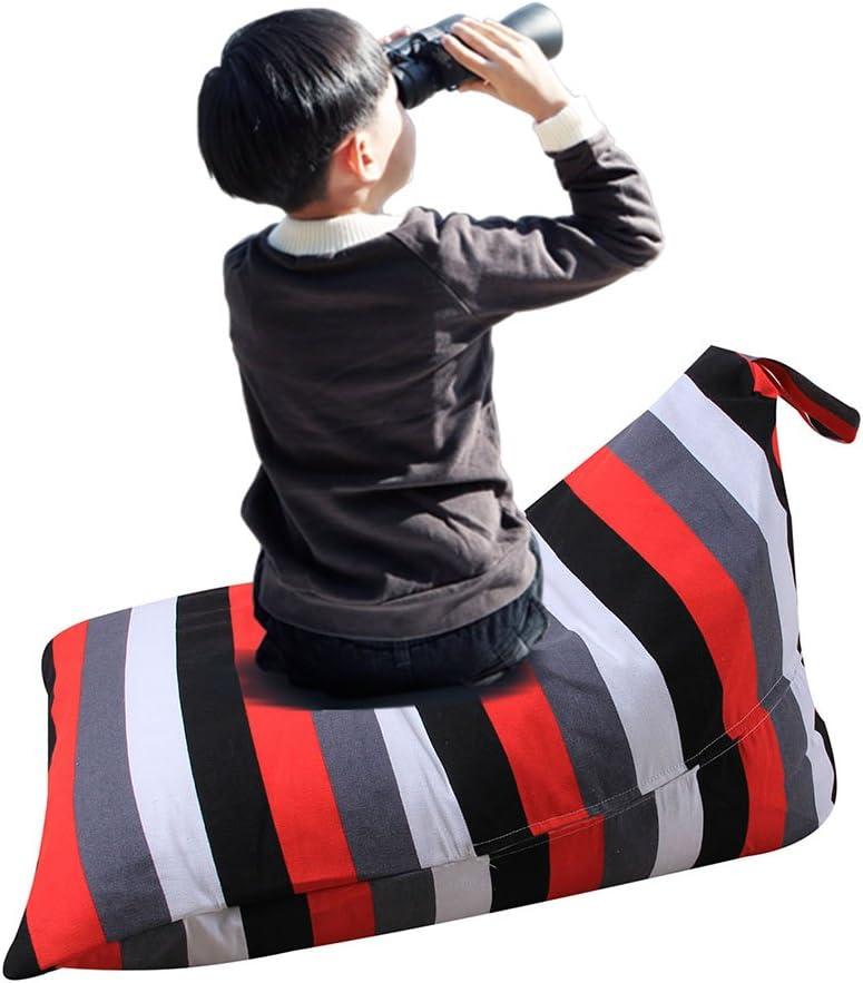 Gaeruite Stuffed Animal Toy Storage/ B Lyl 55 /Poltrona sacco extra large organizer per bambini e adulti/ as show /Premium tela di cotone che crea Cozy lettino letto