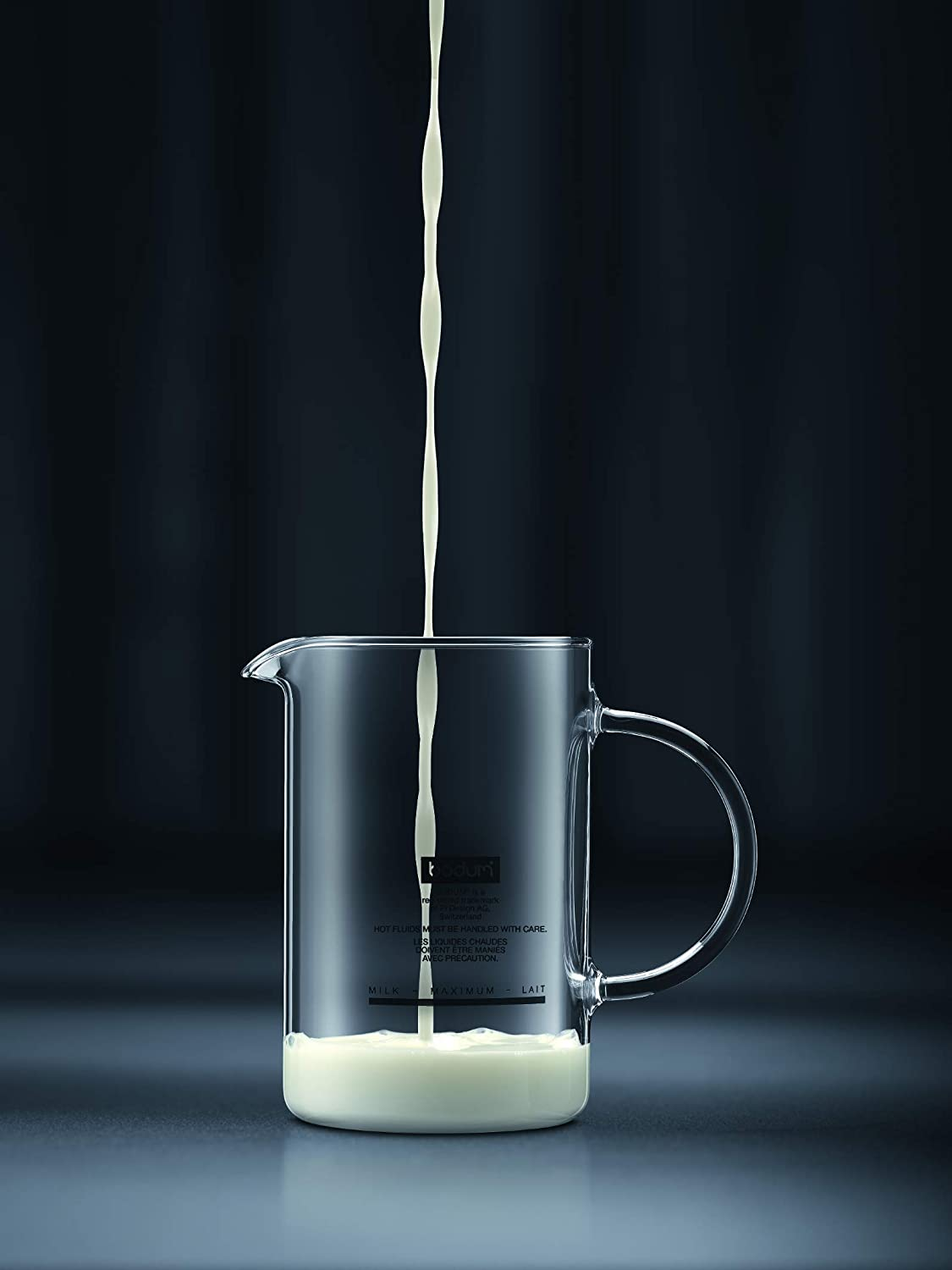 Bodum 11870-01US Bistro Electric Milk Frother 10 Ounce Black