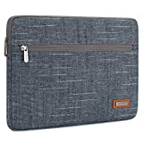 NIDOO 15.6 Inch Laptop Sleeve Case Water-Resistant Protective Portable Computer Carrying Bag Pouch for 15.6'' Notebook / 15.6'' Lenovo Yoga 720 / IdeaPad 520 / Dell XPS 15 2017, Blue
