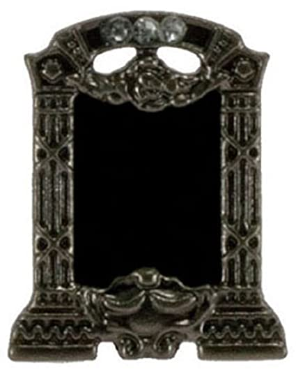 """Dollhouse Miniature Small /""""Marcasite Look/"""" Picture Frame"""