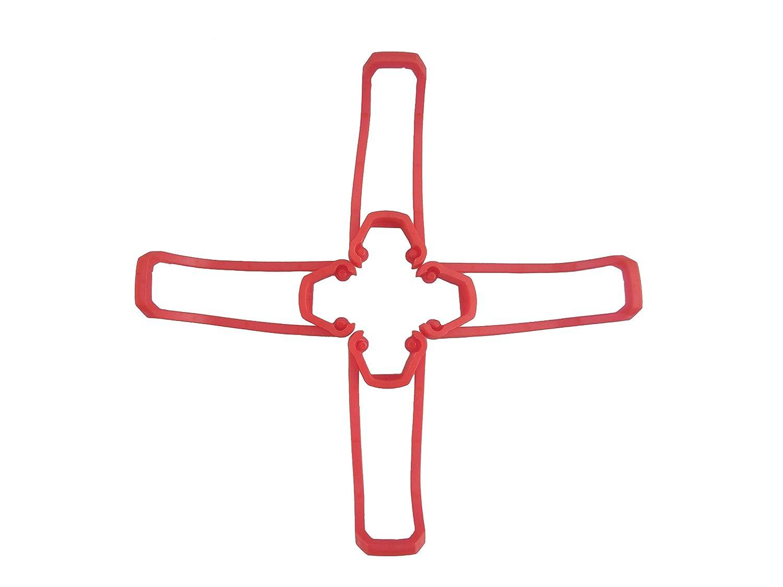RONSHIN Para Eachine E58 RC Quadcopter Piezas de Repuesto Palas de la h/élice Aterrizaje del propulsor Conjunto de la Cubierta de protecci/ón de la Guardia
