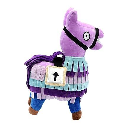 Fortnite Loot Llama Juguetes de Peluche de Lama, Animales de Peluche de Juguete para niños