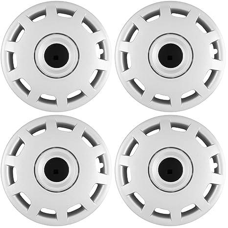 Tapacubos para Volkswagen Passat (Pack de 4, fijación a presión de fundas para ruedas